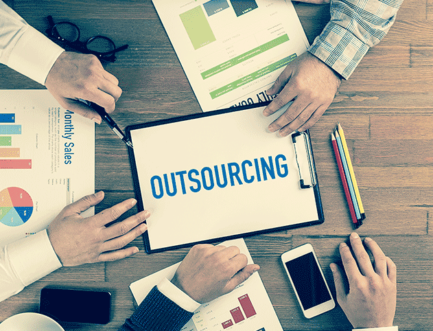 """Fully Outsourced """"As-a-Service"""" Model"""